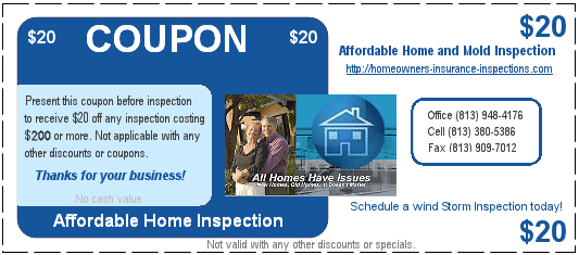 home inspection discount coupon
